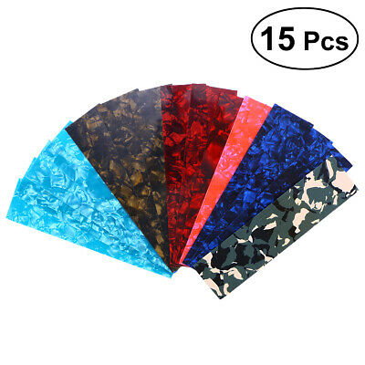 $ CDN13.22 • Buy 15x Guitar Pick Punch Sheets Light Medium And Heavy Celluloid Guitar Pick Strips