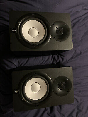 Yamaha HS7 Powered Studio Monitor Speakers (Pair) + Power And Audio Cables • 124£