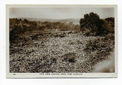 VIEW FROM CANNOCK CHASE CAMP, STAFFORD - W. H. SMITH & SON REAL PHOTO (1910s) • 4.50£