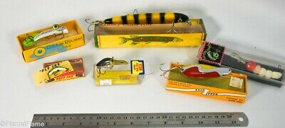 $ CDN25.48 • Buy Vintage Miscellaneous Boxed Cisco Storm Ike Minnow Antique Fishing Lure Lot JJ24