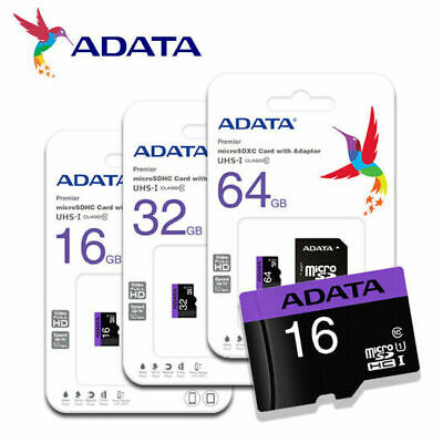 $5.69 • Buy Micro SD Memory Card Adapter 16GB 32GB 64GB TF Class 10 For Smartphones Tablets