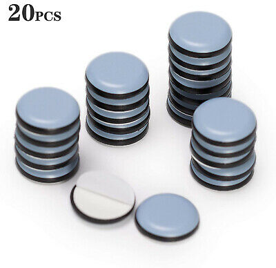 AU13.49 • Buy 20Pcs Furniture Sliders For Carpet Movers Heavy Duty Removal Shifter Feet Glider