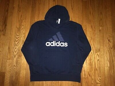 $ CDN11.11 • Buy MINT CONDITION Adidas Logo Hoodie Men's Size 2XL