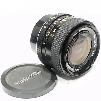 Yashica 28mm 1:2.8 ML Wide Angle Lens, Contax C/Y Mount, Made In Japan • 54.99£