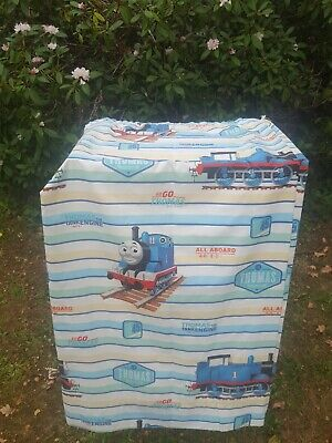 M&S Thomas The Tank Engine Lined Curtains & Single Duvet Cover & Pillow Case  • 14.99£