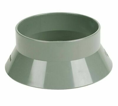 110mm Soil Pipe Vent Sleeve Roof Weather Collar / Cover Weather Skirt - Grey • 6.99£