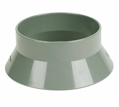 £7.77 • Buy Weather Collar 110mm Soil Pipe Vent Sleeve Roof Cover Weather Skirt Grey