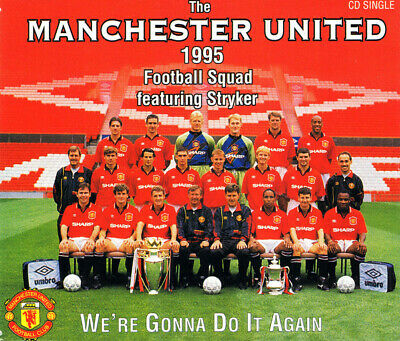 ID5783z - Manchester United Football Team - We're Gonna Do It Ag • 6.96£