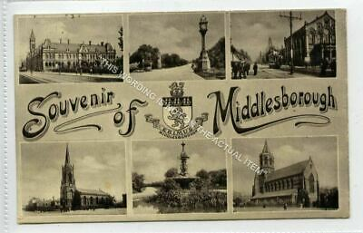 £4.25 • Buy (KLh5103-544) Multiview, Souvenir Of Middlesborough 1907 Used G-VG
