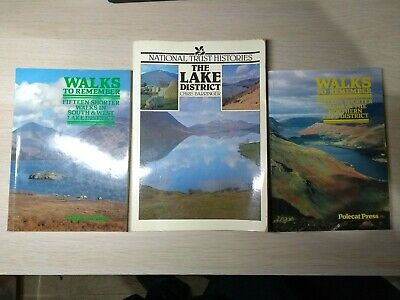 3 X Lake District Books • 5£