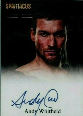 2011 Andy Whitfield SPARTACUS RITTENHOUSE AUTO AUTOGRAPH ROOKIE SIGNED SP STARZ • 523.32£