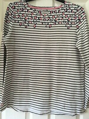 Ladies Joules Harbour Top Size 18 • 5.50£