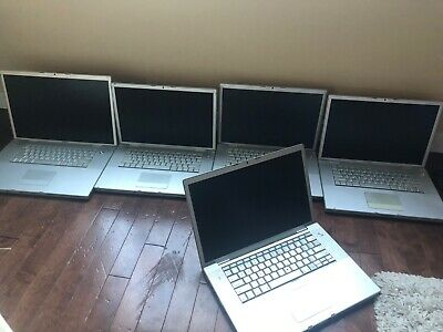 $ CDN650 • Buy LOT OF 5  Apple MacBook Pro A1226  15.4  Laptop - MA895LL/A (June, 2007)