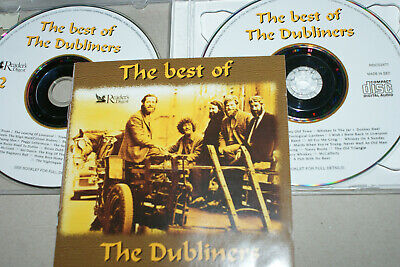 THE DUBLINERS  * THE BEST OF  *  READERS DIGEST  * 2x CD ALBUM.. 40 GREAT TRACKS • 2£