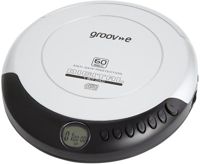 Groov-e Retro Personal CD Player With 20 Track Programmable Memory, LCD Display, • 23.14£