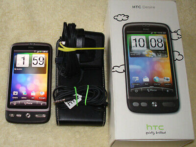 HTC Desire A8181 Brown Unlocked WiFi Camera Phone + Mem Card Very Good Condition • 24.95£