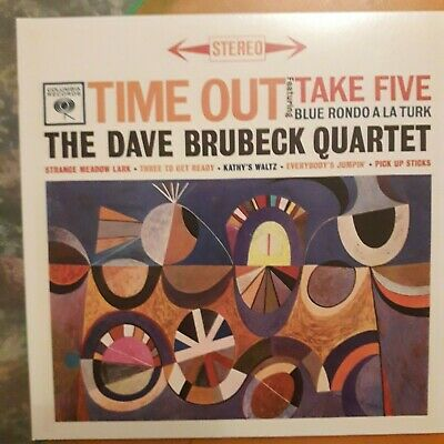 THE DAVE BRUBECK QUARTET:TIME OUT  (1959 Album) Columbia CD Inc. TAKE FIVE~NEW  • 2.99£