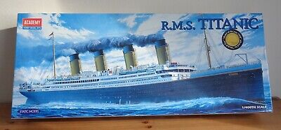 New Academy Hobby R.m.s. Titanic Model Kit 1/400th Scale • 32.99£