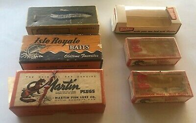 $ CDN16.97 • Buy Lot Of Vintage FISHING LURE BOXES -