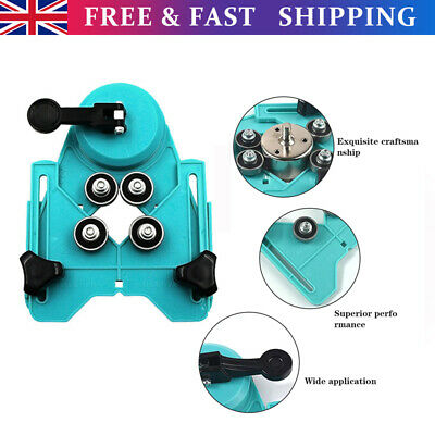 £11.18 • Buy Diamond Holesaw Set Locator Holes Saw Drill Bit Cutter Tile Glass Marble Guide