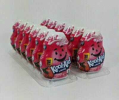 12 Kool-Aid Strawberry Flavor Enhancer Liquid Drink Mix  • 34.28£
