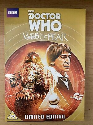Dr Doctor Who - The Web Of Fear DVD RARE BBC Shop Slipcase Edition  Yeti • 5.99£
