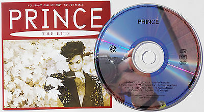 PRINCE CD The Hits 12 Track UK PROMO ONLY 1993 Mint / Unplayed • 24.95£