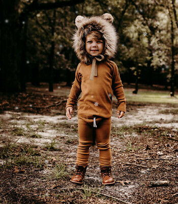 Native Fable Kids Lion Trapper Hat - Age 4-5 Years - $82 Worn Once • 30£