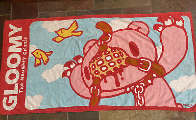 Gloomy Bear Bath Towel Uk Seller *extremely Rare* • 25£