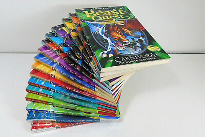 Beast Quest Book Bundle X 16 Inc Complete Series 7 Adam Blade All With Cards LN • 0.99£