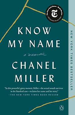 £11.70 • Buy Know My Name: A Memoir By Chanel Miller (Paperback, 2020)
