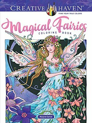 Adult Coloring Book Creative Haven Magical Fairies Coloring Book (Paperback) • 5.90£
