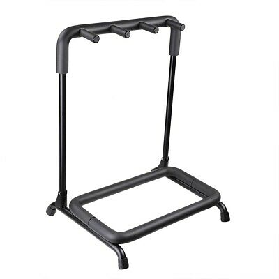 $ CDN38.91 • Buy 3 Guitar Holder Rack Stand Folding Stage Storage Organize Bass Acoustic Mount DJ