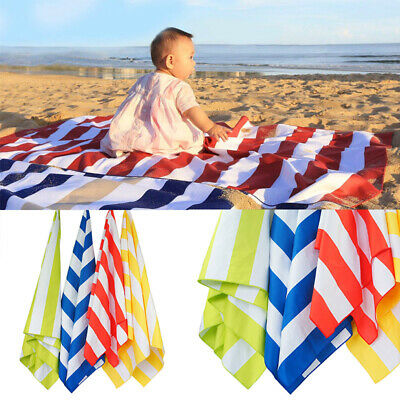 AU28.76 • Buy Quick Dry Beach Towels - Sand Free & Compact,  - Microfibre Travel Towel
