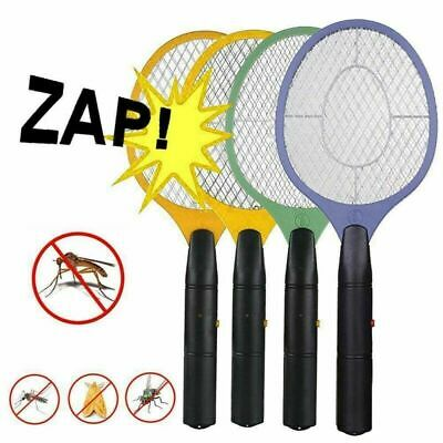 Electric Fly Insect Racket Zapper Killer Swatter Bug Mosquito Wasp Electronic • 5.79£