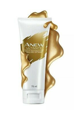 Avon Anew Ultimate Gold Peel-Off Face Mask - 75ml Sealed • 7.99£