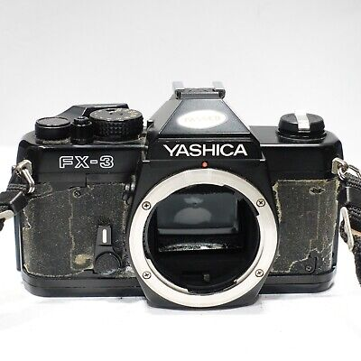 Yashica FX-3, 35mm SLR Camera Body (C/Y Contax/Yashica Lens Mount) • 32.99£