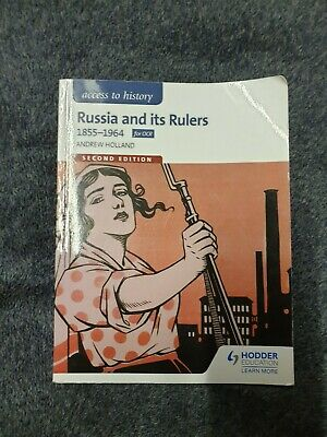 OCR A Historical Themes: Russia And Its Rulers 1855-1964 By Andrew Holland (Pap… • 14£