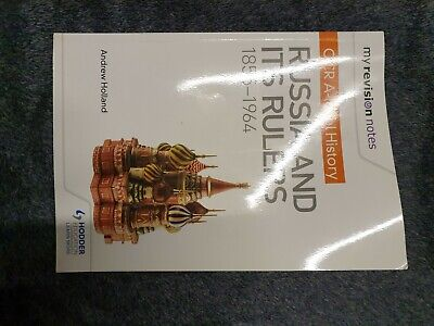 My Revision Notes: OCR A-level History: Russia And Its Rulers 1855-1964 By Andr… • 8£