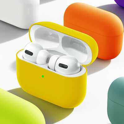 $ CDN3.99 • Buy For Apple AirPods Pro Charging Case Soft Silicone Cover Skin Protective Holder