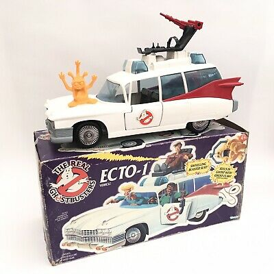 Vintage 1980's Kenner Real Ghostbusters Figure Vehicle - Ecto 1 Complete Boxed • 4.99£