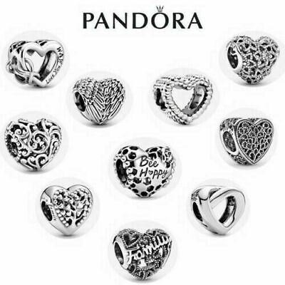 S925 New Silver With Pandora & Gift Charm Heart Box Genuine ALE Brand • 12.59£