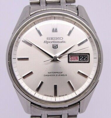 $ CDN9.72 • Buy VINTAGE 1967 Seiko Sportsmatic 5 Mens 35.5mm Steel Automatic Watch 6619-8050