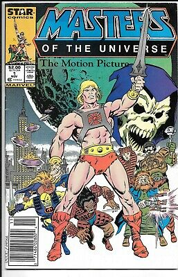 $11.99 • Buy He-Man Masters Of The Universe The Motion Picture #1 Newsstand Edition