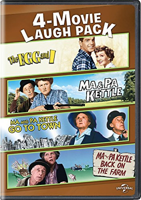 $19.94 • Buy The Egg And I / Ma & Pa Kettle / Ma And Pa Kettle Go To Town / Ma And Pa Kettle