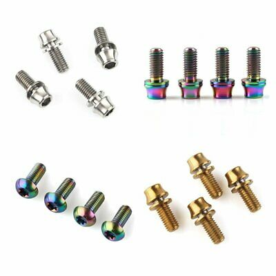 M5x12mm Titanium Bicycle Water Bottle Cage Bolt Bike Bicycle Bottle Holder Screw • 5.99£