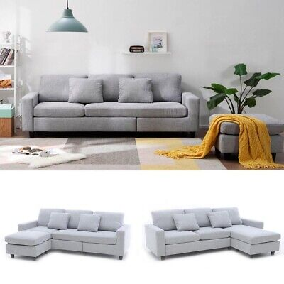 £500 • Buy Left/Right Corner Sofa Hand Side Bed With FreeStyle Footstool 2 Free Pillows