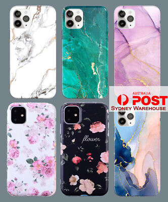 AU8.90 • Buy Slim Fit Cute Marble Case Cover For IPhone 11 12 Pro Max Mini Xs Plus 2020
