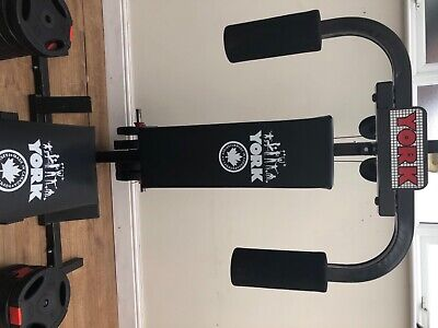 York 3000 Power Fitness Multi Gym Comes With Extra Weights Purchased Separately • 375£