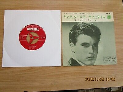 Rick Nelson=young World (japanese)  P/c  Vg++ • 0.99£